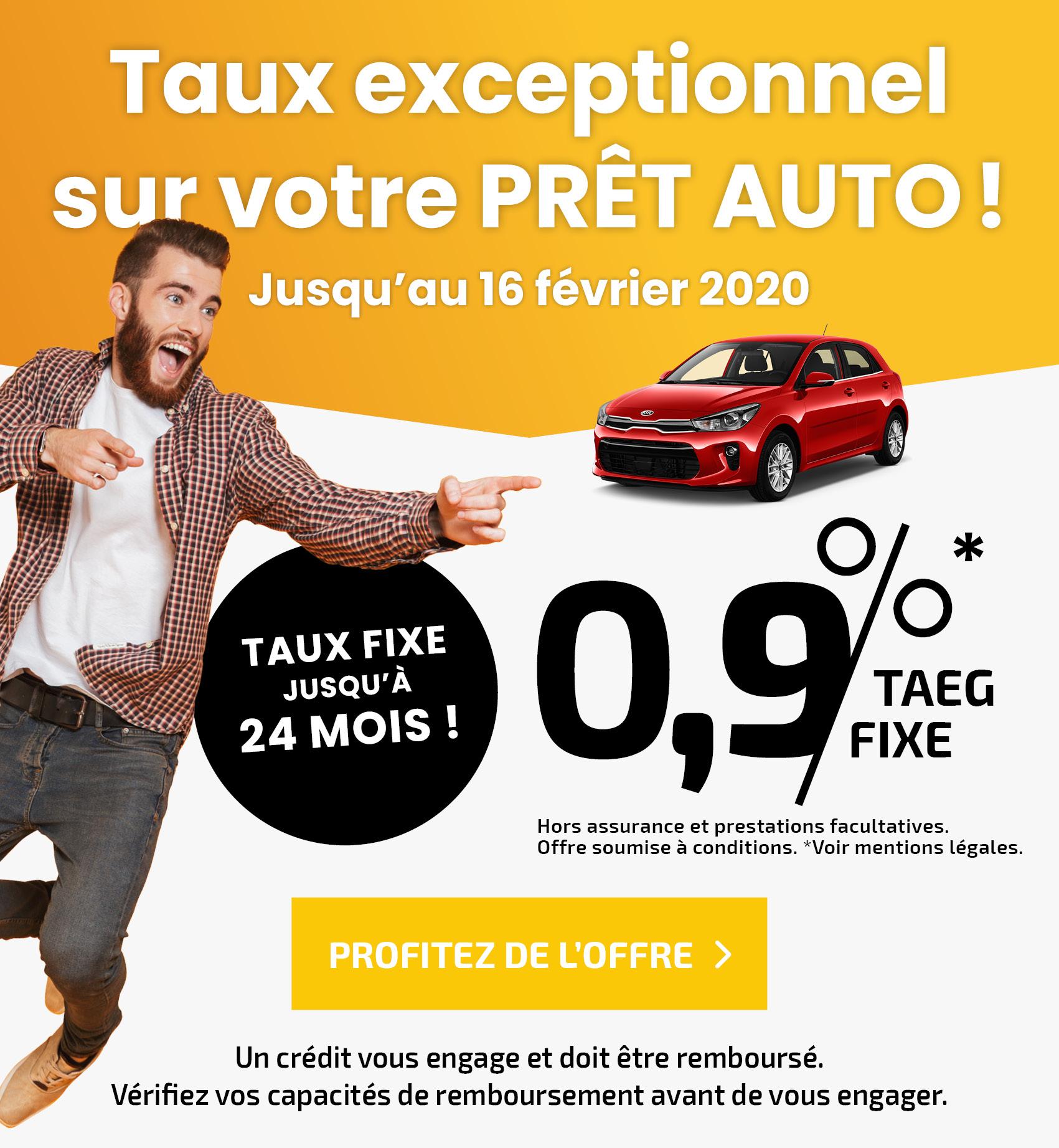 Financement auto : taux à 1,9% pour le crédit
