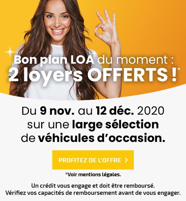 2 loyers offerts