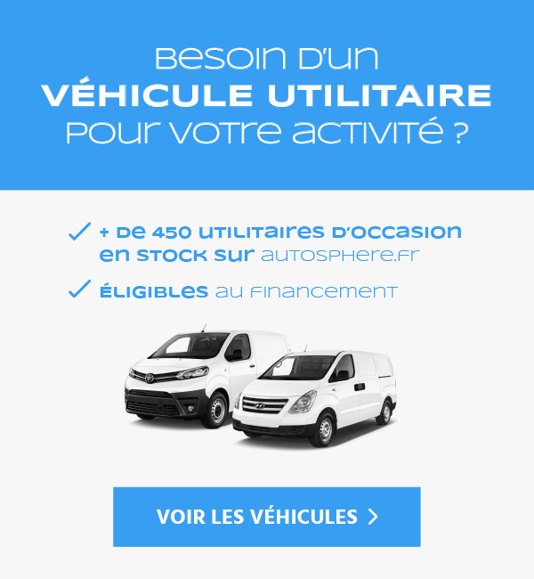 Voiture d'occation utilitaire